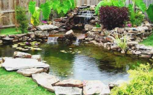 Koi pond malaysia design build specialist scapexpert for Koi fish pond design in malaysia