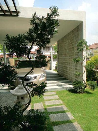 Landscape pictures garden design portfolio in malaysia for Contemporary japanese garden