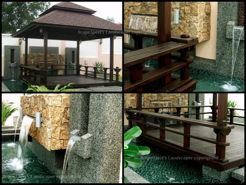 Japanese Garden Design Layout Water Features