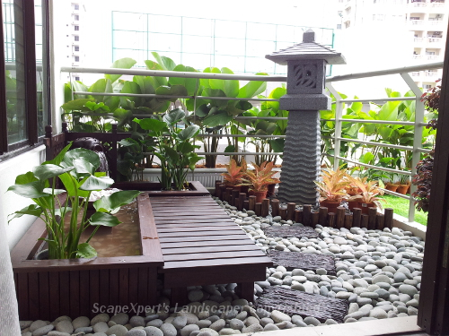 1000 images about inspiration balcony landscapes on for Balcony zen garden ideas