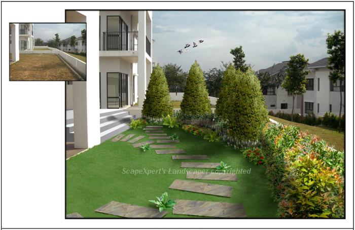 ... Landcaping Design Kajang Jadehill 52 ...