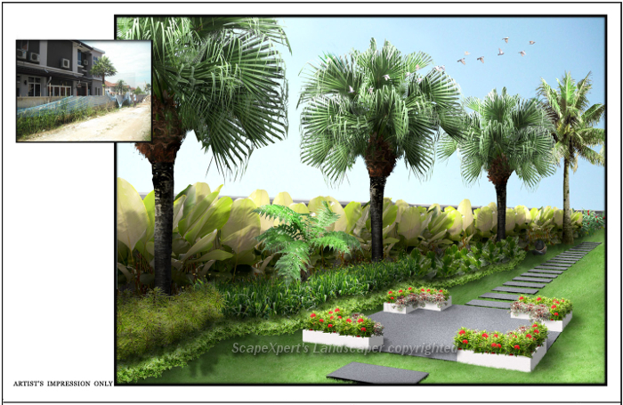 Garden Design Landscaping 3d Layout Malaysia ...