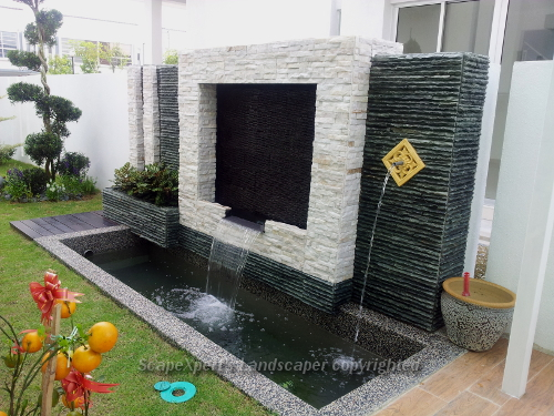 Landscape pictures garden design portfolio in malaysia for Koi fish pond design in malaysia