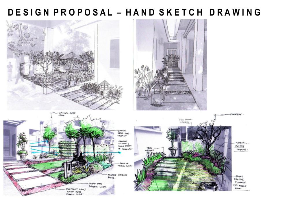 Landscape pictures garden design portfolio in malaysia for Landscape and garden design sketchbooks