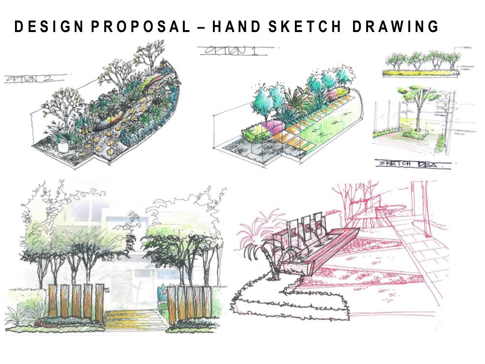 Landscape pictures garden design portfolio in malaysia for Garden design proposal