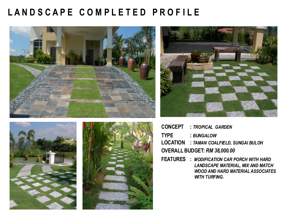 Landscape pictures garden design portfolio in malaysia for Garden design portfolio